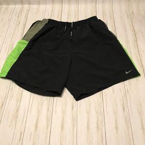 Nike drifit Running shorts size Large